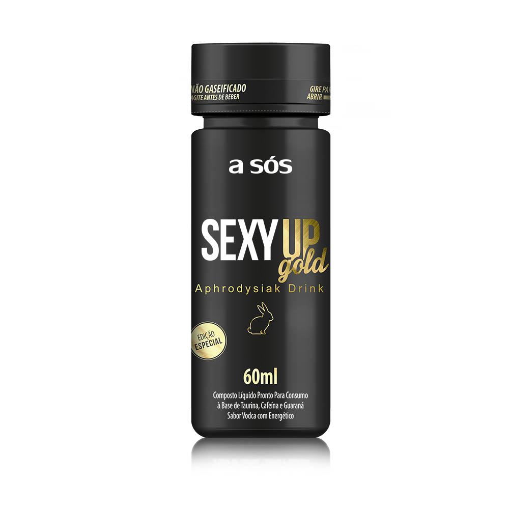 Energético Sexy Up Gold Energy Drink 60 ml   A Sós