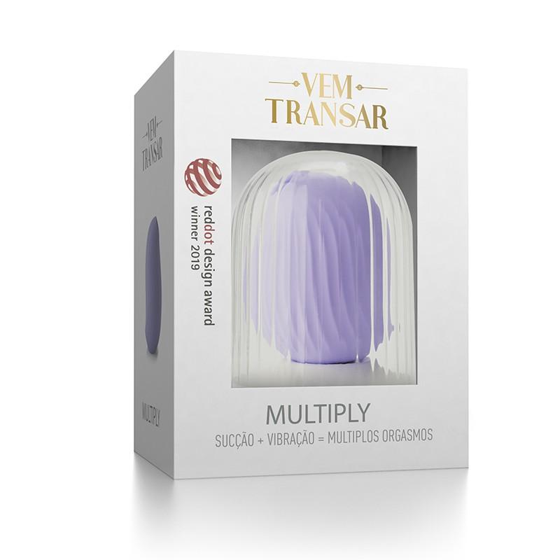 Multiply Estimulador de Clitóris por Sucção - Vem Transar