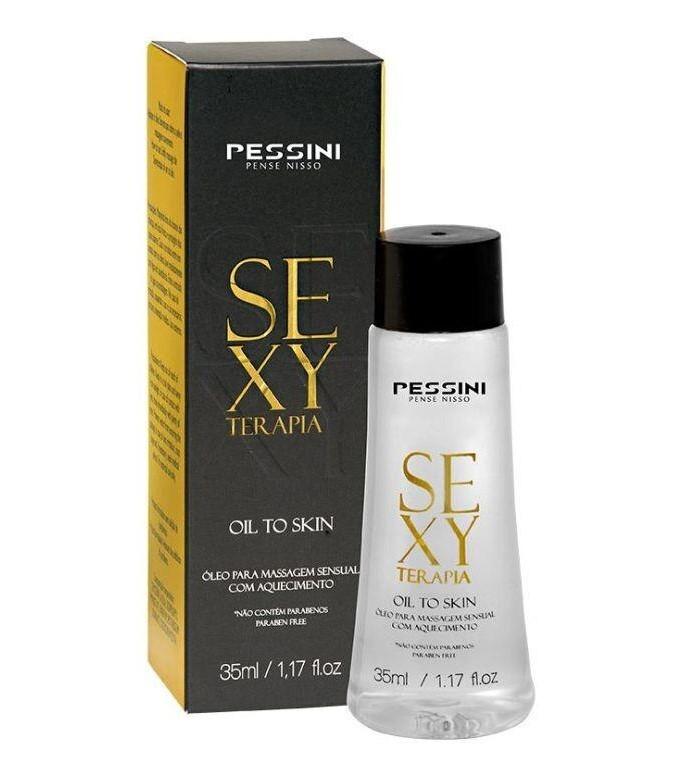 Óleo Para Massagem Sexy Terapia Oil To Skin | Pessini