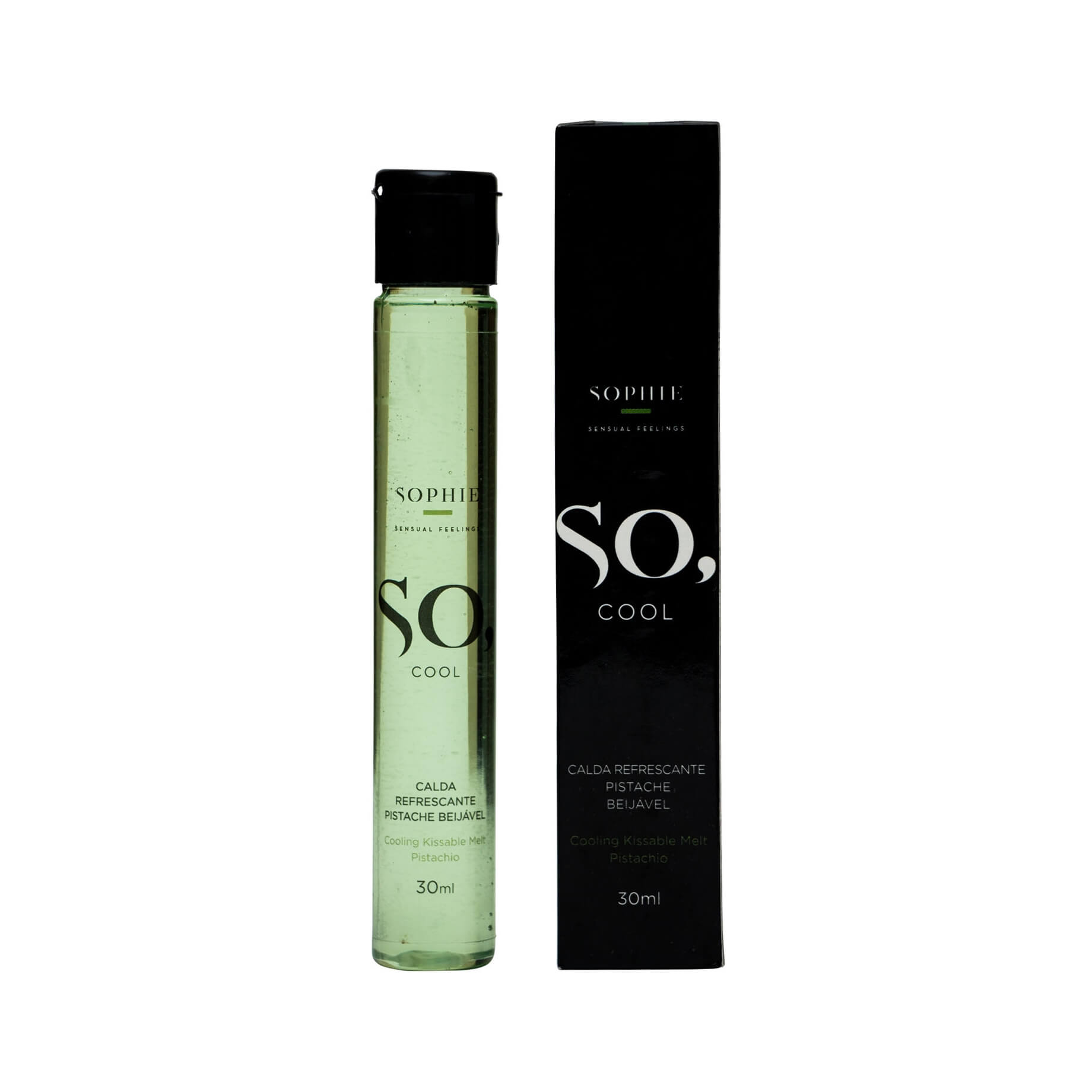 Sophie So, Cool - Calda Refrescante Beijável - 30 ML| Sabor: Pistache