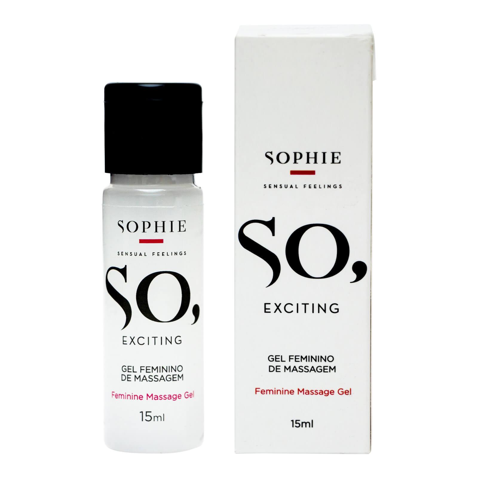 Sophie So, Exciting - Gel clitoriano que esquenta - 15 ML