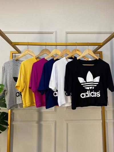 Blusa Cropped Adidas