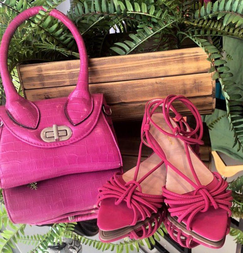 Rasteira Pink