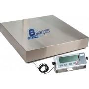 Balança Eletrônica 500kg X 100g Plataforma Inox 70x70 Inmetro Marte