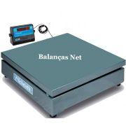 Balança Eletrônica Industrial 1000kg x 500g Plataforma 1,00x1,00 Envio Imediato