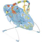 Cadeira De Descanso Bebê c/ Balanço Joy Azul Kiddo