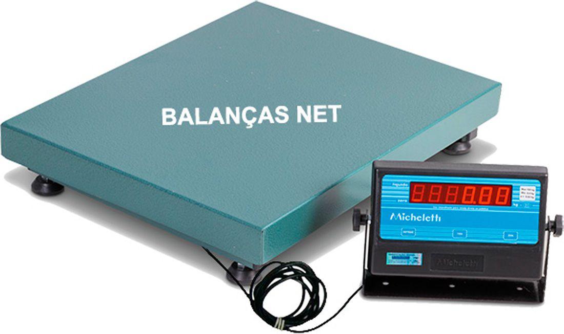 Balança Eletromecânica 300kg x 100g Plataforma 50x60cm Garantia e Inmetro