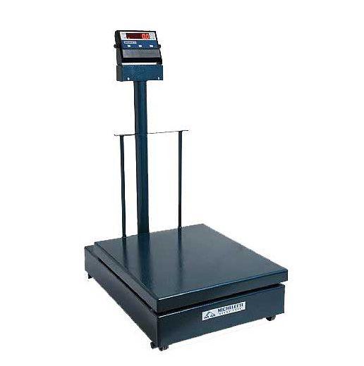 Balança Eletromecânica Digital 300kg x 100g Plataforma 41x57 Com Coluna Inmetro