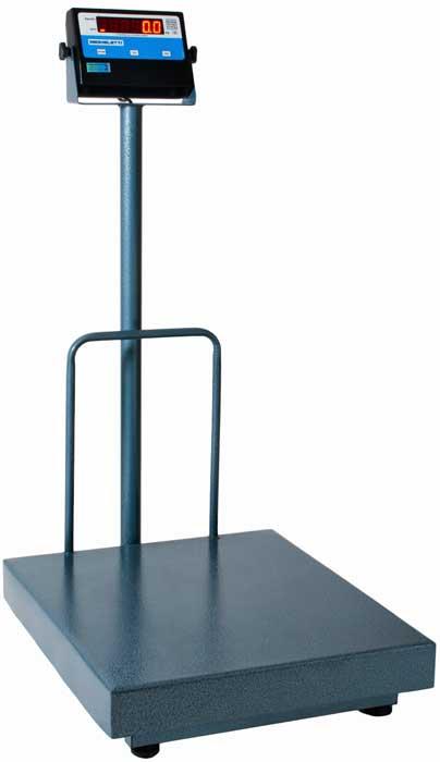 Balança Eletronica 100kg X 20g Plataforma 40x50 Coluna Inmetro