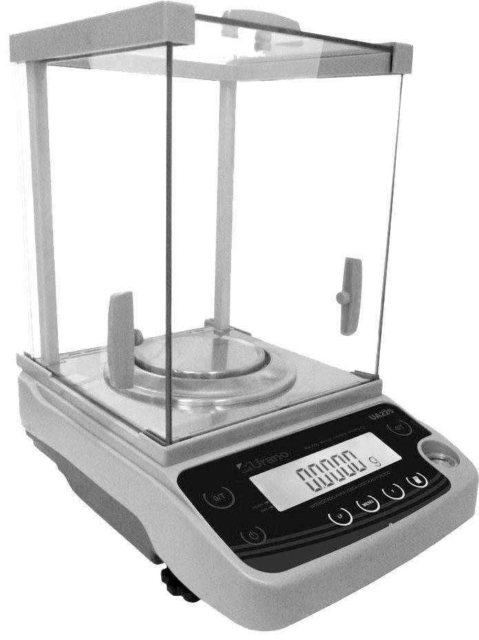 Balança Eletrônica Analítica 220g X 0,0001g Inmetro Envio Imediato