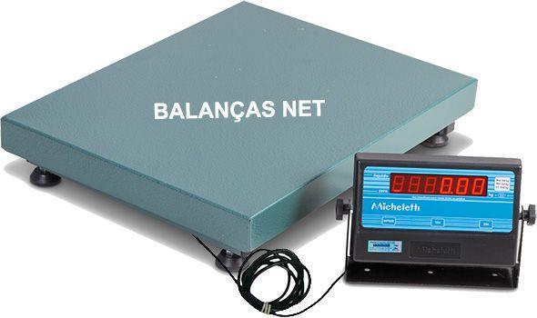 Balança Eletronica Industrial 100kg X 20g Plataforma 50x40 Inmetro