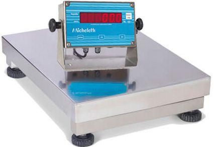 Balança Eletronica Totalmente Inox 100kg X 20g Plataforma 40x50 Inmetro