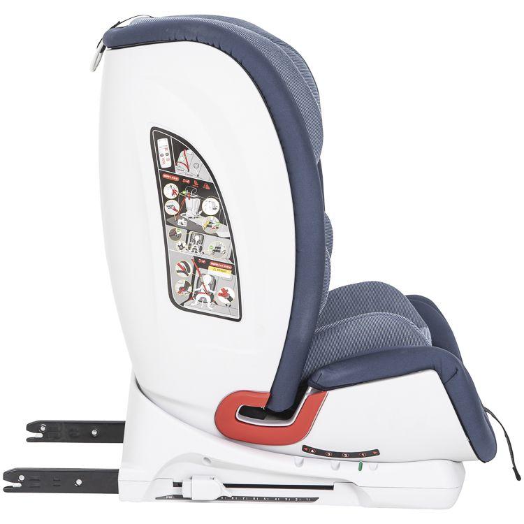 Cadeira Auto Mars Isofix 9 À 36kg Inclinação Kiddo Azul MA