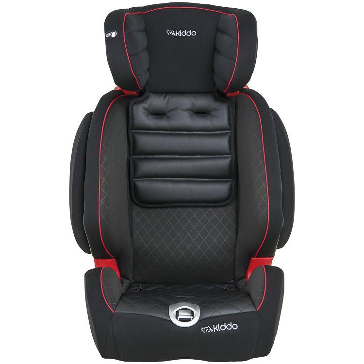 Cadeira Auto Poltrona Adapt Preta 9 À 36kg Inclinação Isofix Kiddo