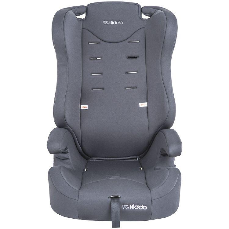 Cadeira Auto Poltrona City 9 À 36kg  Isofix Kiddo Inmetro Cinza
