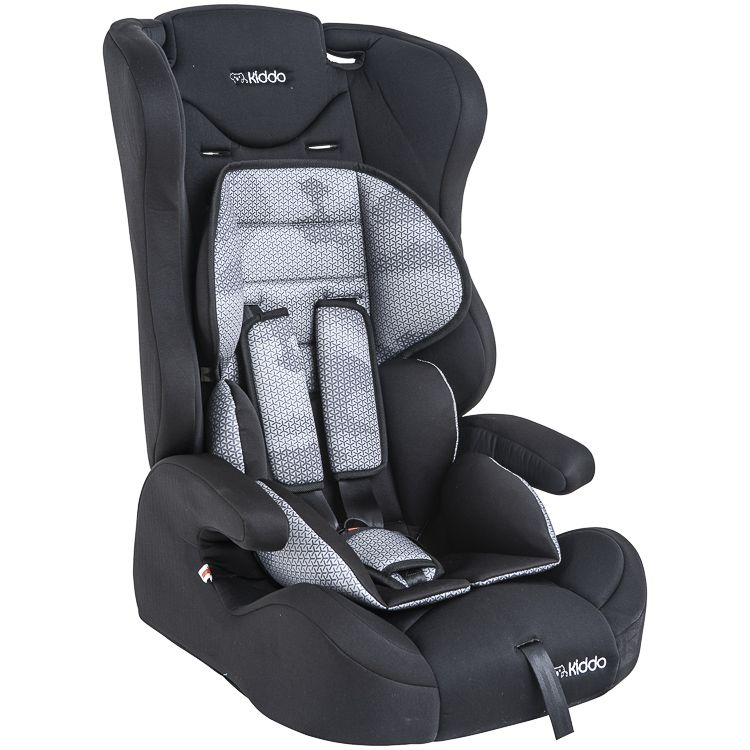 Cadeira Auto Poltrona City 9 À 36kg  Isofix Kiddo Inmetro Preta