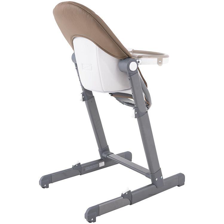 Cadeira De Alimentação P/ Bebê Reclinável Enjoy Kiddo Marrom