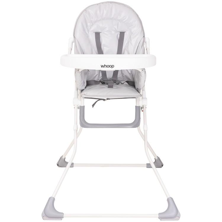 Cadeira De Alimentação Vectra Plus Bandeja E Cinto Whoop Cinza