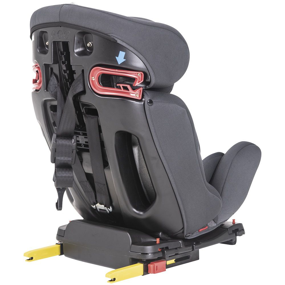 Cadeira de Auto Bebê Apollo 0 À 36kg Isofix Inclinação Kiddo Cinza