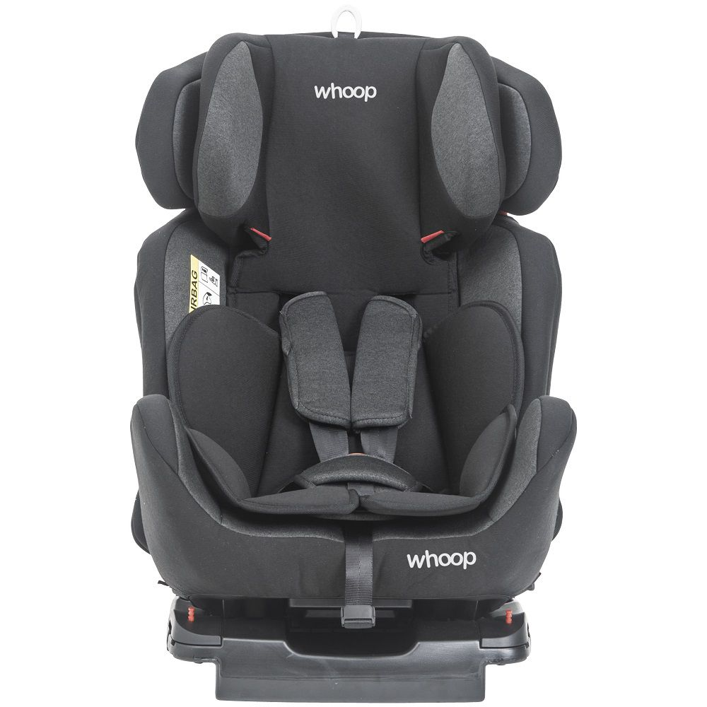 Cadeira de Auto Bebê Apollo 0 À 36kg Isofix Inclinação Kiddo Preto