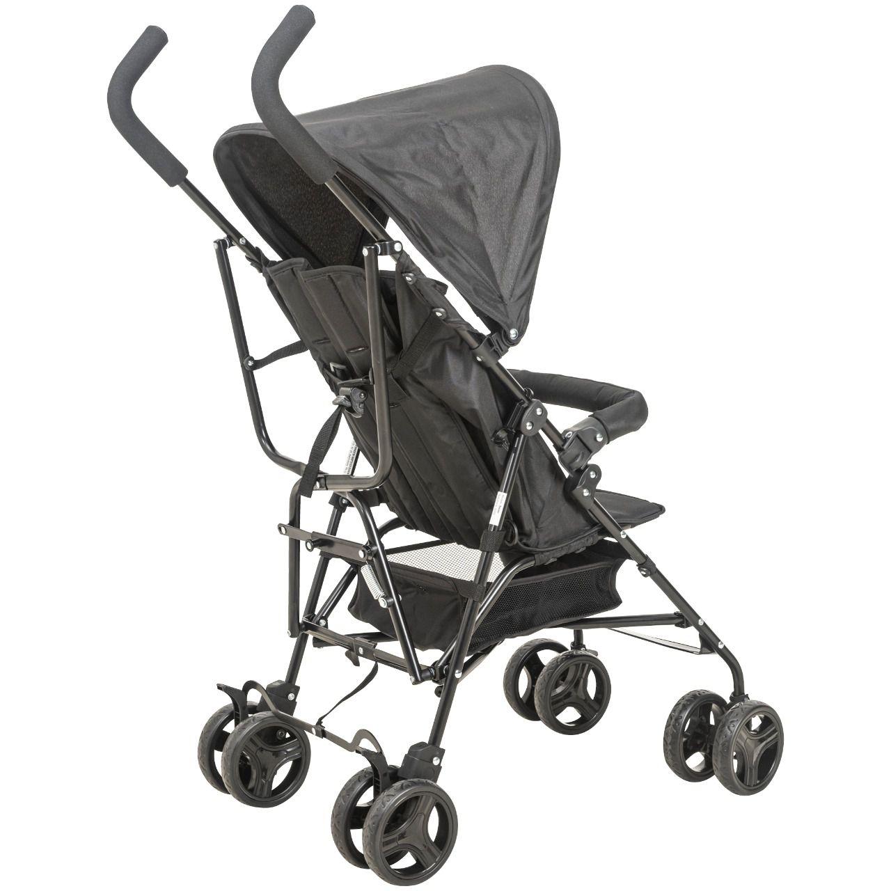 Carrinho de Bebê Passeio Torino Fechamento Guarda-Chuva Kiddo Whoop