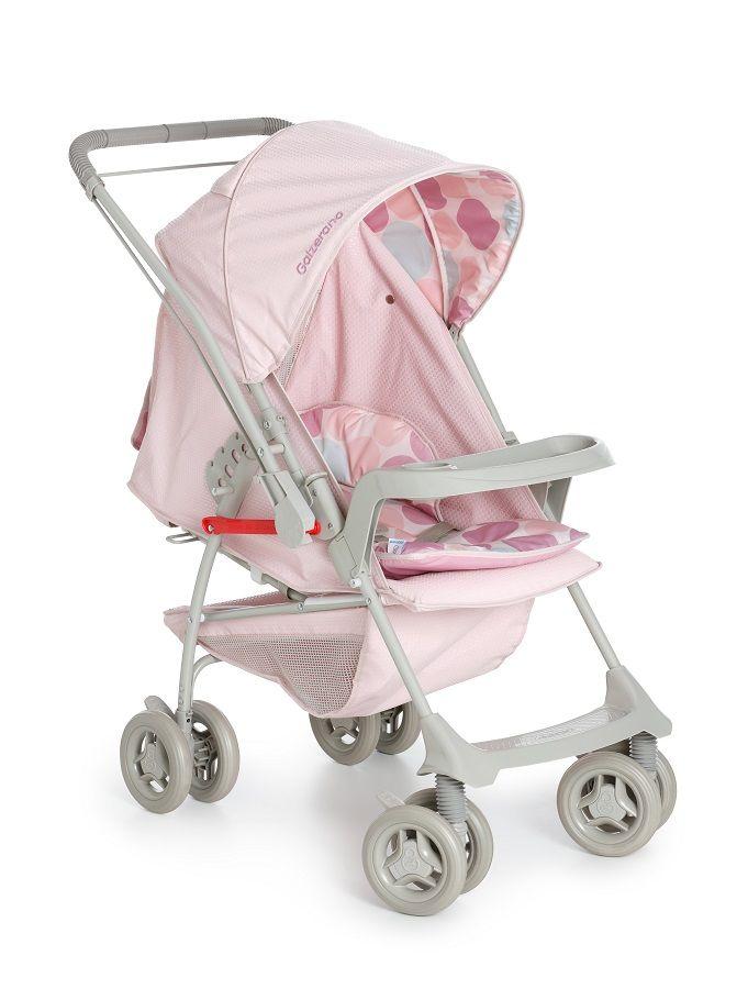 Carrinho Milano Reversível Bebê Conforto Cocoon Base Galzerano