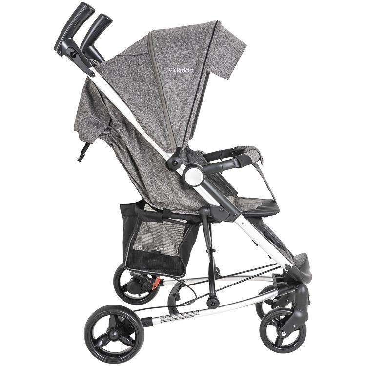 Carrinho Travel System + Bebê Conforto Base Helios Kiddo MG