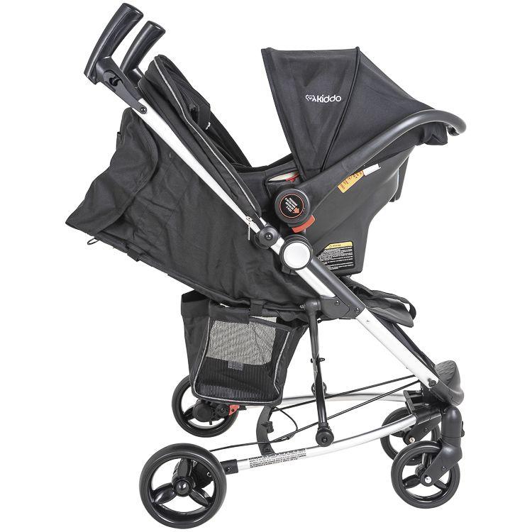 Carrinho Travel System + Bebê Conforto Base Helios Kiddo MP
