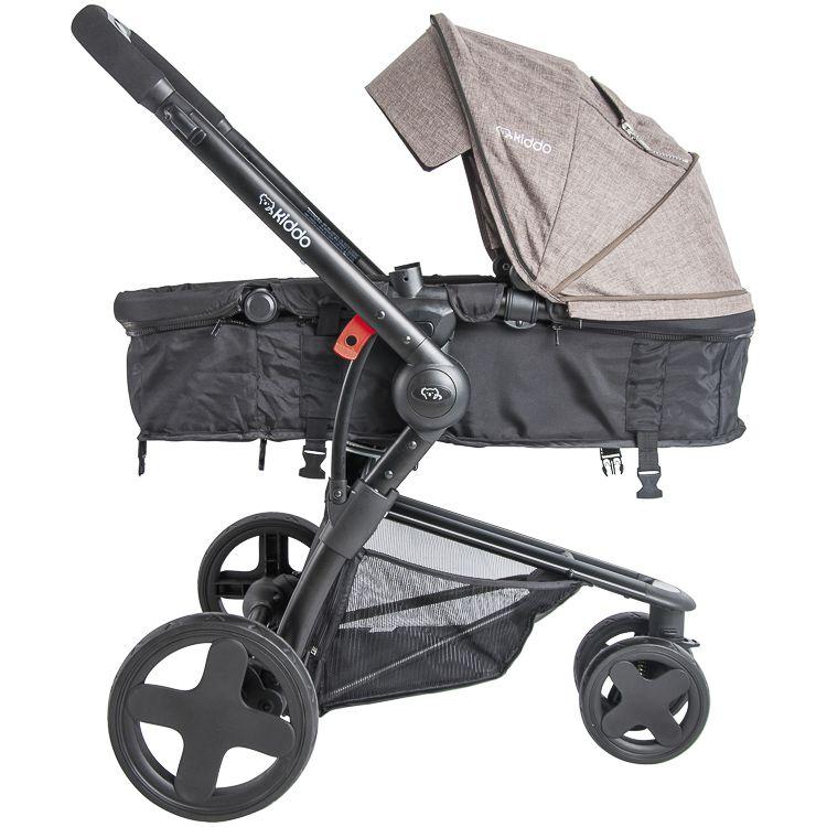 Carrinho Travel System Compass lll + Bebê Conforto Base Mc Kiddo