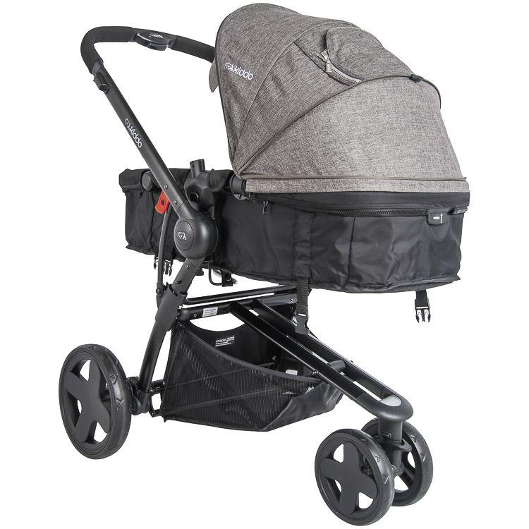 Carrinho Travel System Compass lll + Bebê Conforto Base MG Kiddo