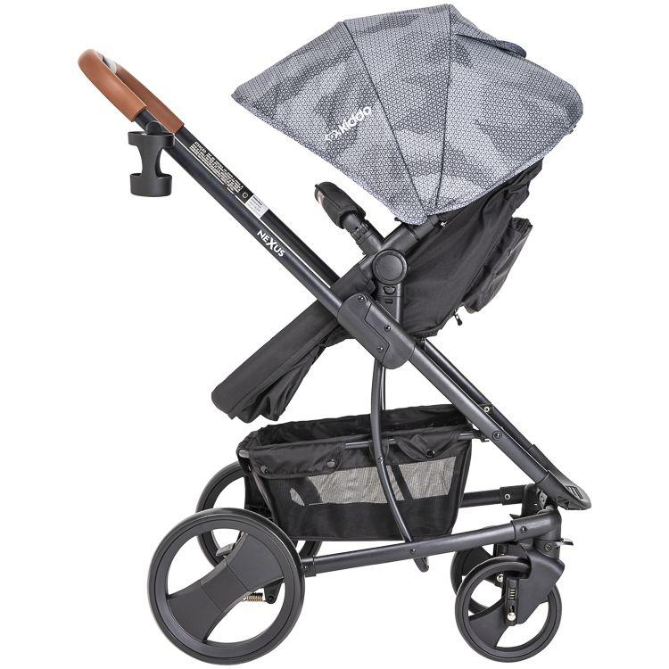 Carrinho Travel System Nexus + Bebê Conforto E Base Kiddo PR