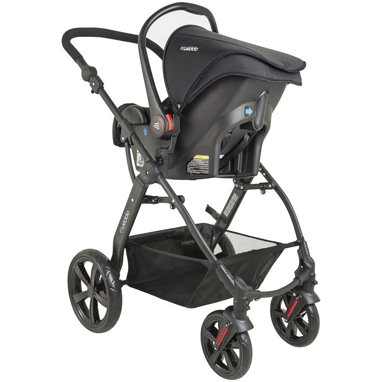 Carrinho Triciclo Galaxy Bebê Conforto Base Kiddo Inmetro VG