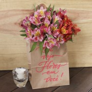 Bouquet Alstroemeria Personalizado