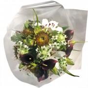 Bouquet Lírios, Girassóis e Callas - Artificial