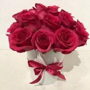 Caixa com Rosa Pink