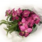 Bouquet Orquídea Wanda - Artificial
