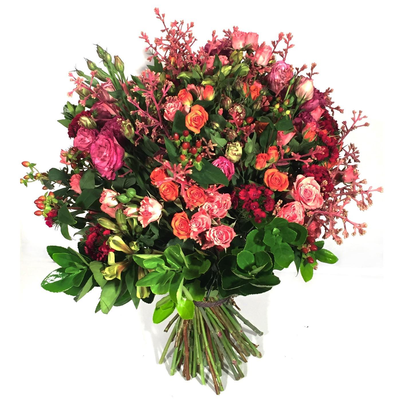 Bouquet Vermelho e PINK
