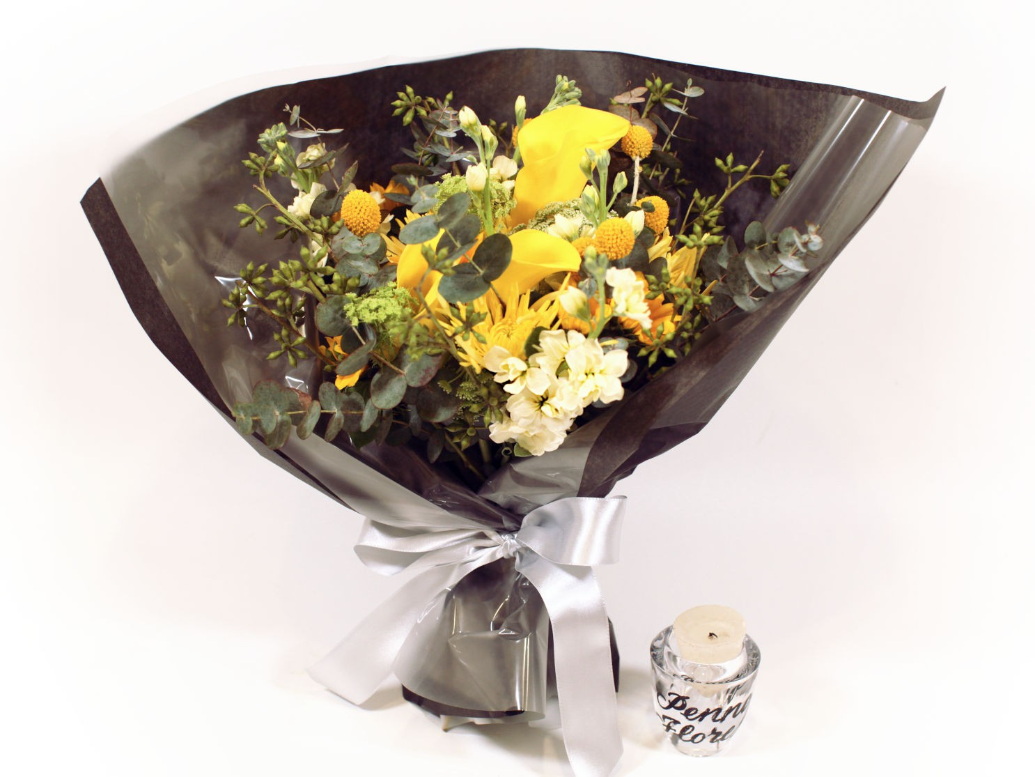 Bouquet Calla Amarelo misto