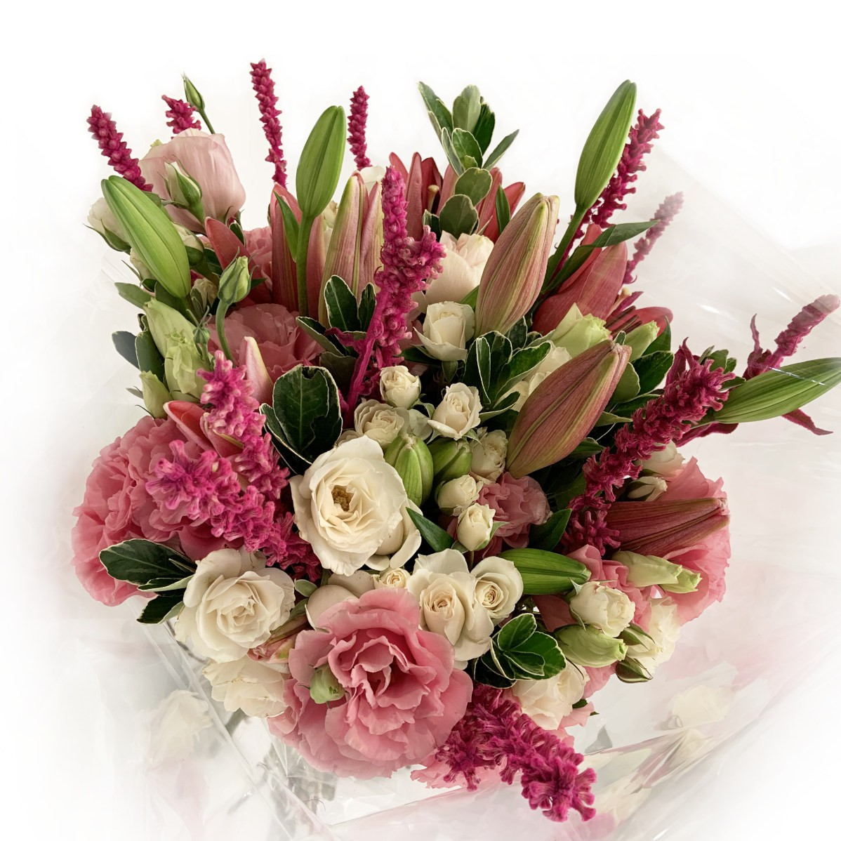 Bouquet Lírio MIX rosa