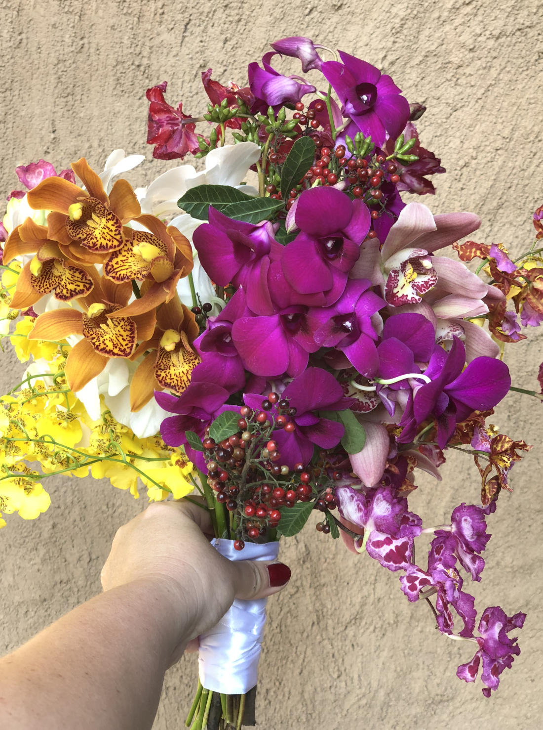 Bouquet Mix  Orquideas
