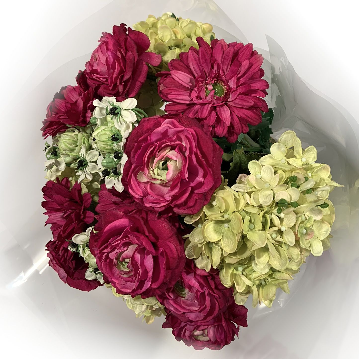 Bouquet Rosa Lilás Misto