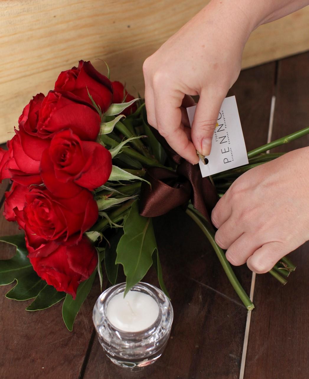 Bouquet Rosas Vermelhas