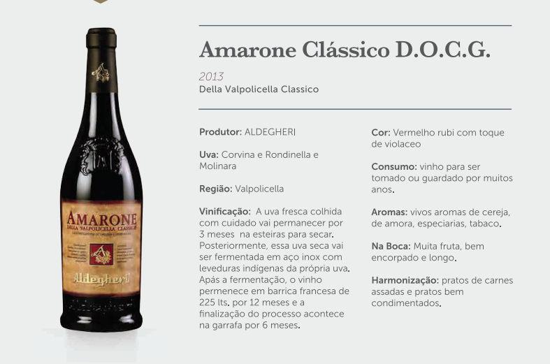 Kit Amarone Clássico Valpolicella