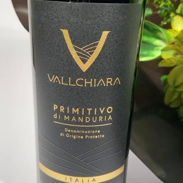 Kit Vinho Primitivo Di Manduria Vallchiara