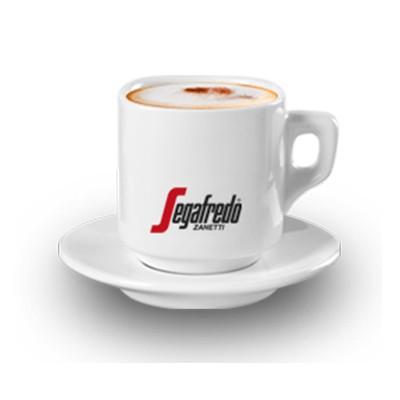 Xícaras de Cappuccino Segafredo - Caixa com 6 peças
