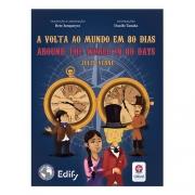 A Volta ao Mundo em 80 dias - bilíngue inglês - Estrela Cultural
