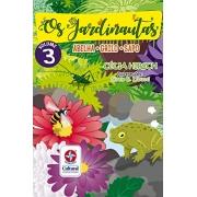 Os Jardinautas Vol. 3 - Grilo, Sapo, Abelha Capa comum – Conjunto de caixa