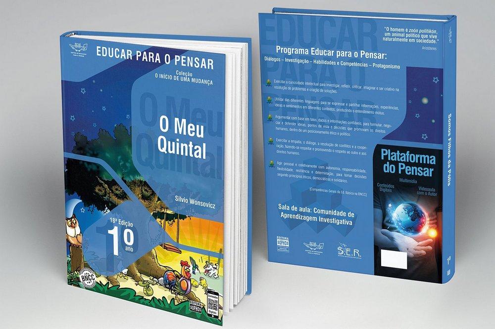 1º ANO - O Meu Quintal - 18ª Edição  - Book Distribuidora de Livros