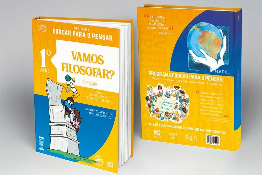1º ANO - Vamos Filosofar? - 8ª Ed.  - Book Distribuidora de Livros