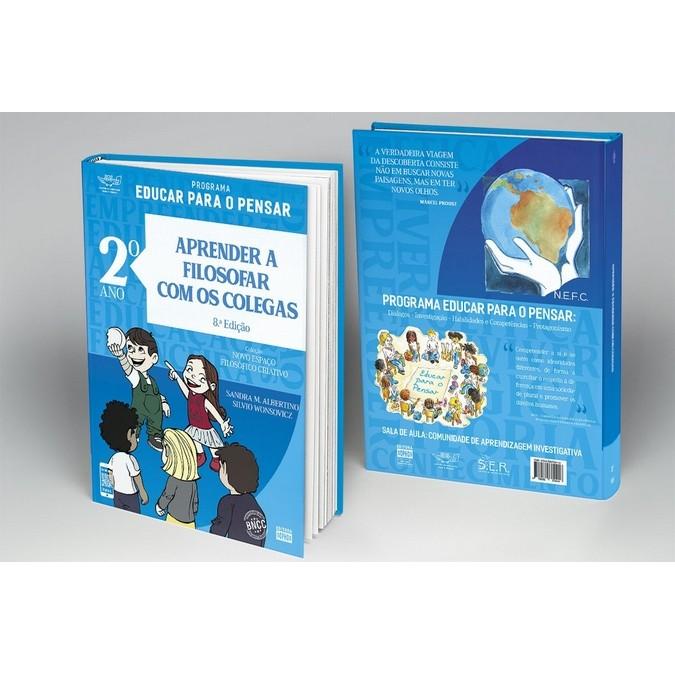 2º ANO - Aprender a Filosofar com os Colegas - 8ª Ed.  - Book Distribuidora de Livros